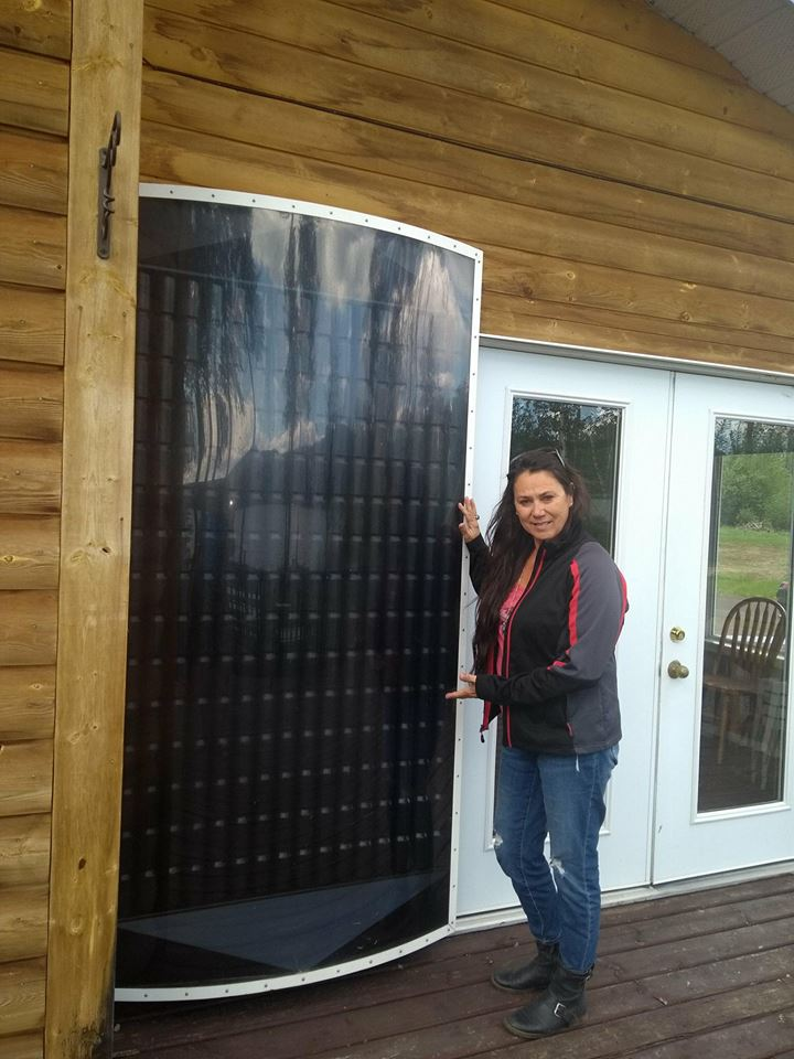 Solar Heater in First Nations