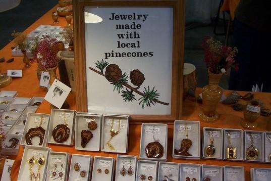 pine cone jewellry